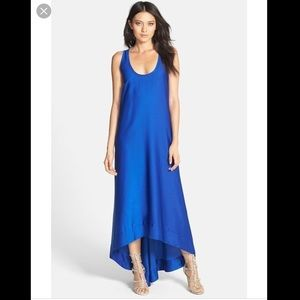 Bcbg royal blue Gia gown